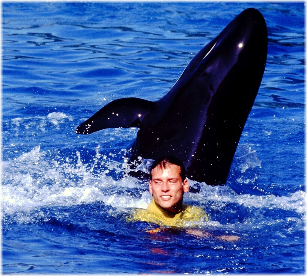 Jeff & False Killer Whale Yaki, collected from a Japanese Drive Fishery